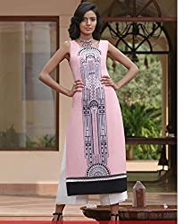 Fashion Galleria women's digital print straight kurti