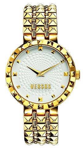 Versus SOD04 0014-Montre à quartz pour femme Bracelet en acier couleur 0