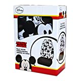 New Design Disney Mickey Mouse Car Seat Covers Floor Mats Steering Wheel Cover CD Visor Organizer Accessories Set with Travel Size Purple Slice