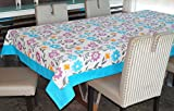 Lushomes 8 Seater Flower Printed Table Cloth