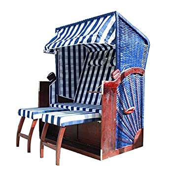corbeille de plage quot mer du nord quot bleue 2 pl cuisine. Black Bedroom Furniture Sets. Home Design Ideas