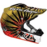 Troy Lee Designs Piston Se 3 Motocross/off-road/dirt Bike Motorcycle Helmet - Gold / Medium