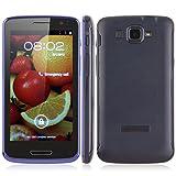 """Hero V6888 Smartphone libre Android 4.0.4 MTK6577(Pantalla táctil de 4,7"""" IPS Pantalla 854 x 480 , cámara frente 0.3 MP,cámara posterior 5MP 4GB de ROM, 512 MB de RAM dual core Dual SIM Card Dual Standby 1.0 GHz , 3G GPS WIFI"""