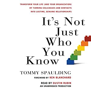 It's Not Just Who You Know Audiobook