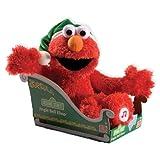 Gund 38cm Christmas Sesame Street Jingle Bells Elmo Soft Toy