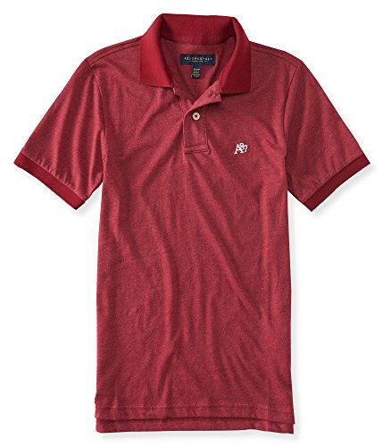 aeropostale-mens-solid-heritage-jersey-polo-shirt-xs-red-rock