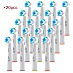 HLC 20PCS Toothbrush Replacement Elec...
