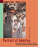 Portrait of America: Volume Two: From 1865 (0618220240) by Stephen Oates