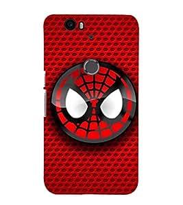 EPICCASE Smiley Spidey Mobile Back Case Cover For Huawei Nexus 6P (Designer Case)