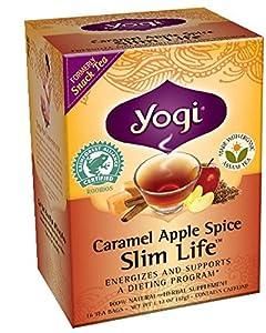 Yogi Tea - Caramel Apple Spice Slim Life (Organic Assam Tea) from East West Tea