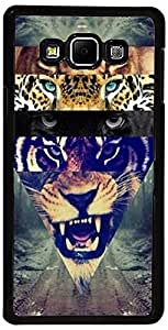 PrintVisa Case Covers for Samsung Galaxy A5 (D8149 Animal Wild Cats)