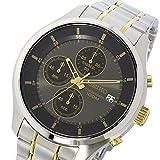 セイコー SEIKO クロノ クオーツ メンズ 腕時計 SKS543P1 ブラック 逆輸入