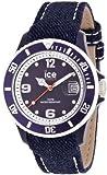 Ice-Watch Unisex-Armbanduhr Analog Quarz Leder DE.DBE.U.J.13