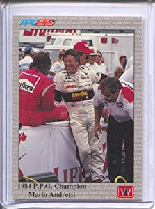 Buy 1991 All World Indy #96 Mario Andretti PPGC by AW Sports