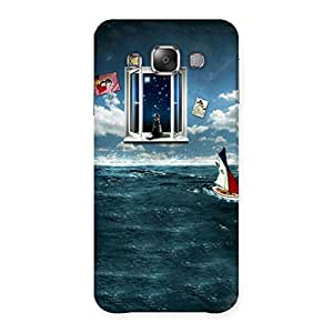 Premium Water Wonder Back Case Cover for Galaxy E7