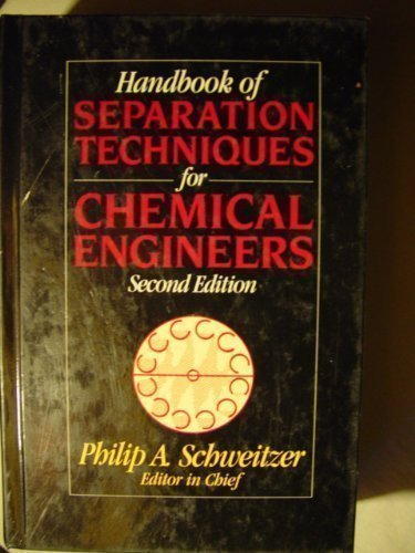 Handbook of Separation Techniques for Chemical Engineers PDF