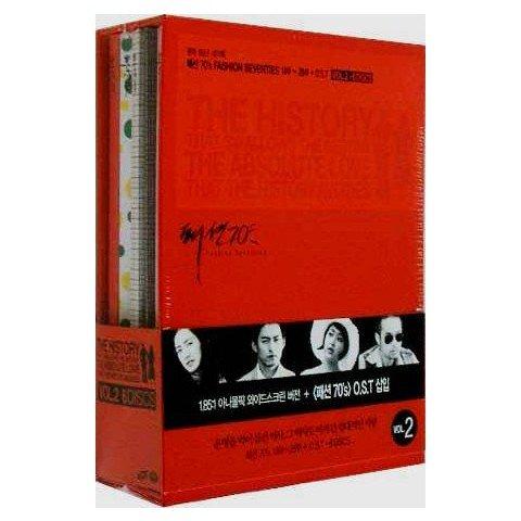 ファッション70's DVD BOX Vol.2 第14話~第28話+OST 韓国版 リージョン3(日本のDVDプレーヤーでは見ることができません・日本語字幕はありません)