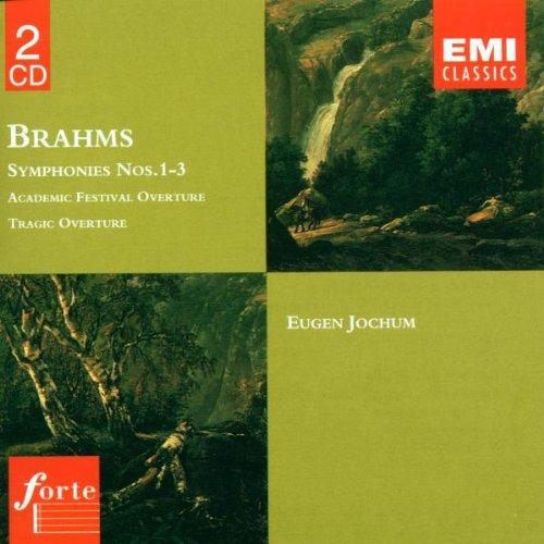 Brahms: Symphonies Nos. 1 - 3 / Tragic & Academic Festival Overtures, Opp. 80,81 (Brahms Symphonies Jochum compare prices)