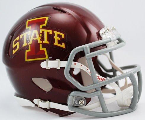 NCAA Iowa State Cyclones Speed Mini Helmet (Iowa State Football Helmet compare prices)
