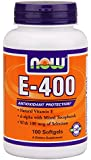 Now Foods E-400, Soft-gels, 100-Count (Packaging May Vary)