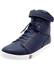 Imcolus Men's Synthetic High Top Sneakers