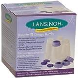 Lansinoh Breastmilk Storage Bottles, 5 oz.,  4-Count Pack (Pack of 2)