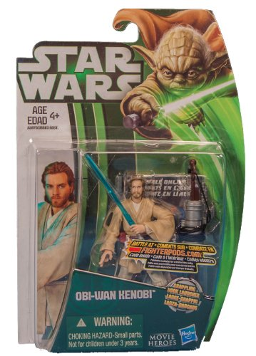 "Star Wars Movie Heroes 2013 Obi-Wan Kenobi 3.75"" Action Figure Canadian - 1"