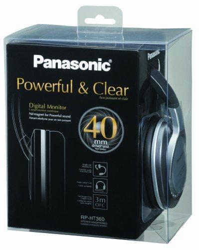 Panasonic rp ht360e s cuffie hi fi ex technics risposta for Panasonic cuffie