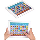 Catterpillar Educational Learning Smart Toy Tablet For Kids With Music 100 % Safe & Non-Toxic (White)