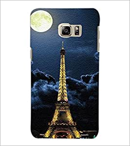 PrintDhaba Tower D-3849 Back Case Cover for SAMSUNG GALAXY NOTE 5 EDGE (Multi-Coloured)