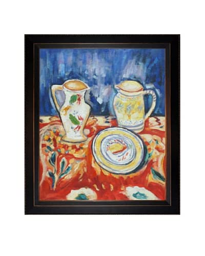 Oil Reproduction of Alfred Maurer's Still Life with Breton Pottery, 1910 As You See
