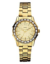 GUESS Analog Gold Dial Womens Watch - W0018L2