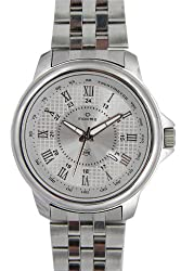 Maxima Attivo Analog Silver Dial Mens Watch - 24110CMGI