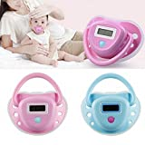 dzt1968 Eco-friendly Cute Safe Baby Infant Digital Nipple Pacifier Soother Thermometer TemperatureTester