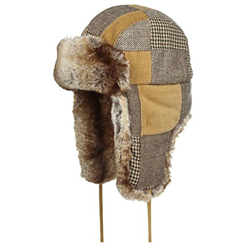 hayward-patchwork-aviator-hat-stetson-aviator-hat-ushanka-l-58-59-brown
