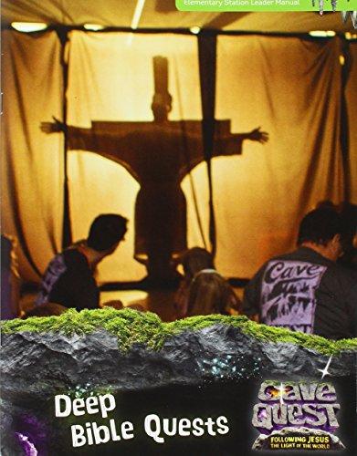 Cave Quest Deep Bible Quests Leader Manual