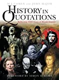 History in Quotations: Reflecting 5000 Years of World History (0297844865) by Cohen, M.J.