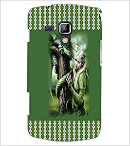 PrintDhaba Fantasy Girl D-3574 Back Case Cover for SAMSUNG GALAXY S DUOS 2 S7582 (Multi-Coloured)