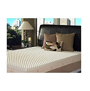 Slumber Solutions Highloft Supreme 4-inch Memory Foam Mattress Topper, Size King