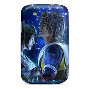Fashionable Style Case Cover Skin For Galaxy S3- Yuna Tidus Art Final Fantasy X