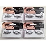 Ardell Fashion Lashes Black Demi Wispies (Pack of 4)