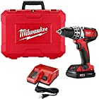 Milwaukee M18 Red Lithium 18-Volt Cordless 1/2 in. Compact Drill Kit