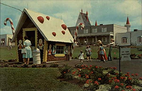 Dutch Wonderland Lancaster Pennsylvania Original Vintage Postcard