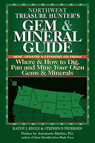 Northwest Treasure Hunter's Gem and Mineral Guide 5/E: Where and How to Dig, Pan and Mine Your Own Gems and Minerals: 1 (Az Central J compare prices)