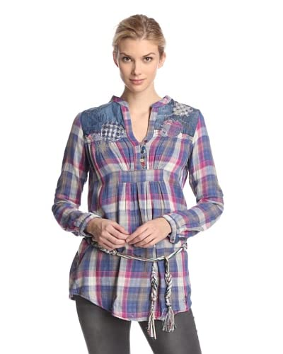 Desigual Women's Plaid Tunic