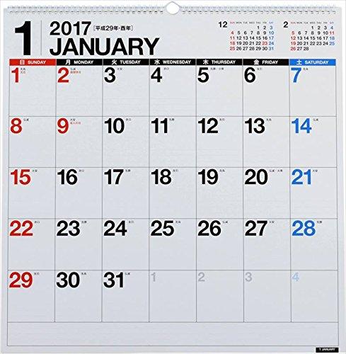 高橋 2017年 カレンダー 壁掛 B2変 E31