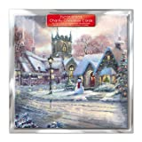 Paper House Charity Christmas Cards - Pack Of 6 Cards - Christmas Town - In Aid of the following Charities: Marie Curie Cancer Care, Age UK, MNDA, Tenovus, British Heart Foundation, Self Unlimited