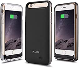 iPhone 6 Battery Case, [Apple MFi Certified] 3100mAh External Protective iPhone 6 Extended Charger Cases with Two Frames**150% extra battery life**