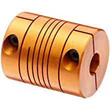 Lovejoy Beam Coupling, EC Series Single Beam Clamp Style Coupling, Aluminum, Inch, Complete Coupling
