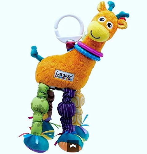 New Baby Lamaze Play & Grow Stretch The Giraffe Take Along Toy front-227308